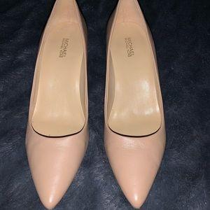 Michael Kors Shoes - Nude Classy Michael Kors heels .